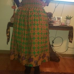 Dresses & Skirts - Maxi Ankara Skirt